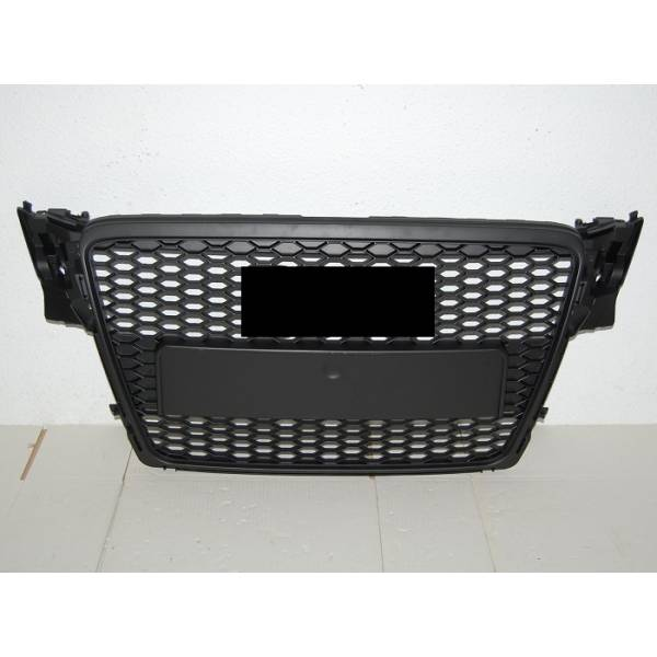 GRILL AUDI A4 B8 RS4 2009-2012 LOOK BLACK