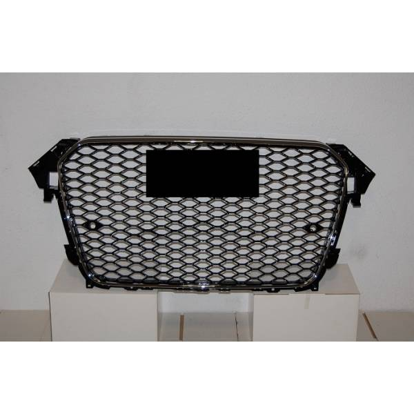 GRILL AUDI A4 '13 -15 LOOK B8 RS4