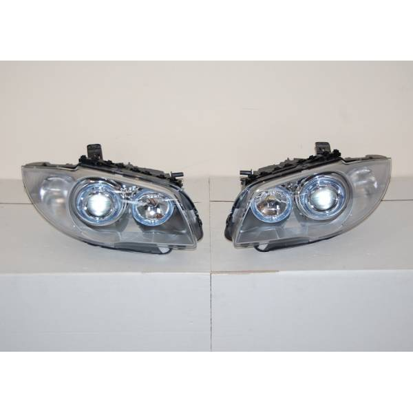 HEADLIGHTS BMW E87 / E81 / E88 / E82 BLACK ELEC