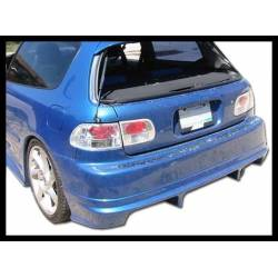 PARAGOLPES TRASERO  HONDA CIVIC 92-95 RACING S/CAJETIN