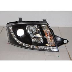 Faros Delanteros Luz De Dia Audi TT '99 Black
