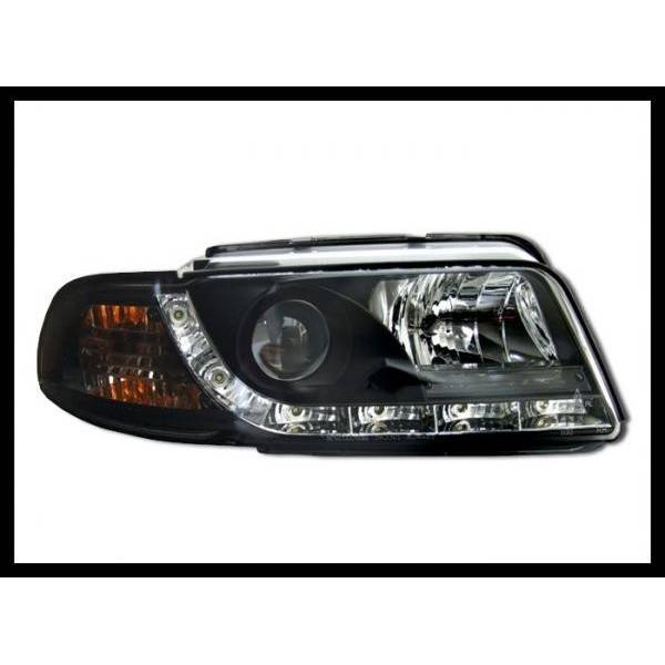DAYLIGHT HEADLIGHTS AUDI A4 BLACK '95 -98