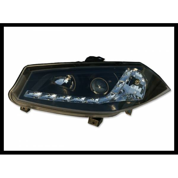 DAYLIGHT HEADLIGHTS RENAULT MEGANE '03 BLACK