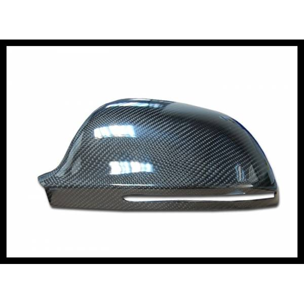 CARBON MIRRORS COVER AUDI A4, S4 (B8) OR A5, S5 (8T) YEAR 2008-2009