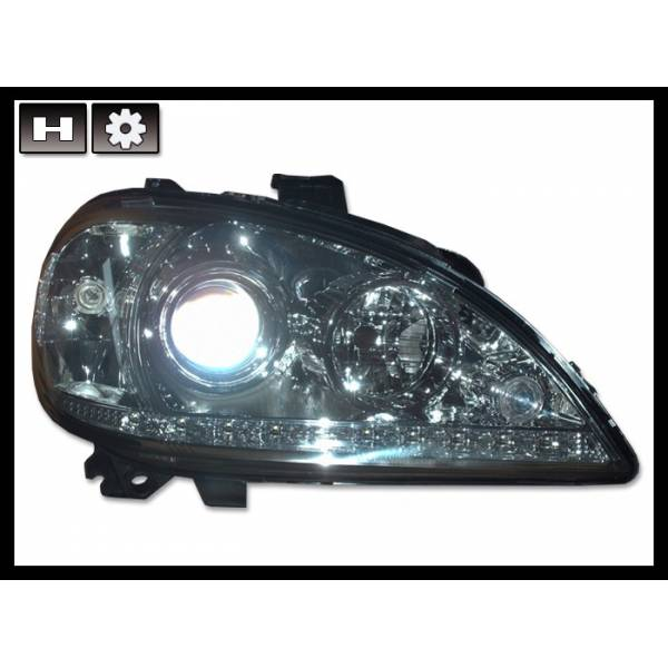 DAYLIGHT HEADLIGHTS MERCEDES W163 02-04 4P
