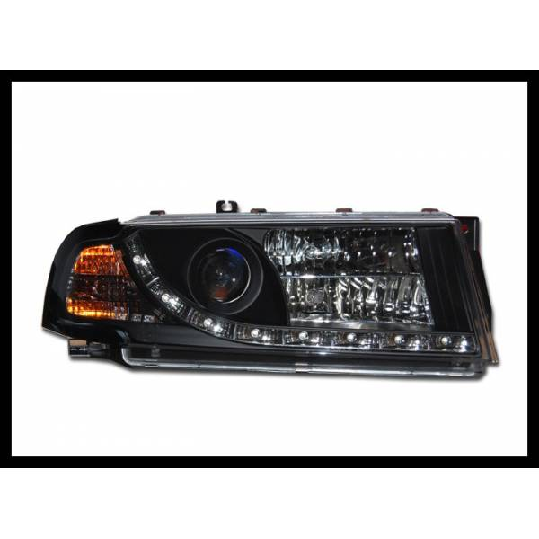 DAYLIGHT HEADLIGHTS SKODA OCTAVIA '01 BLACK