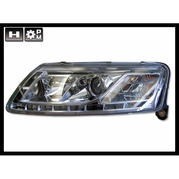 DAYLIGHT HEADLIGHTS AUDI A6 04-07