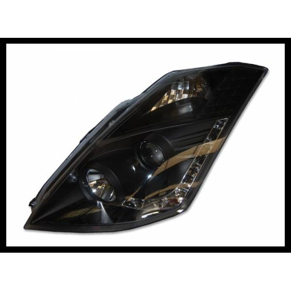 HEADLIGHTS NISSAN 350Z '03 -'05 BLACK
