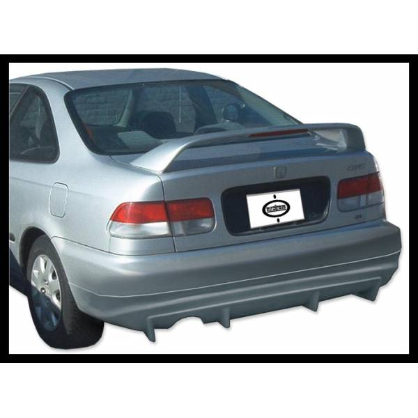 REAR SPOILER HONDA CIVIC 92-95 2-4P PLASTICS