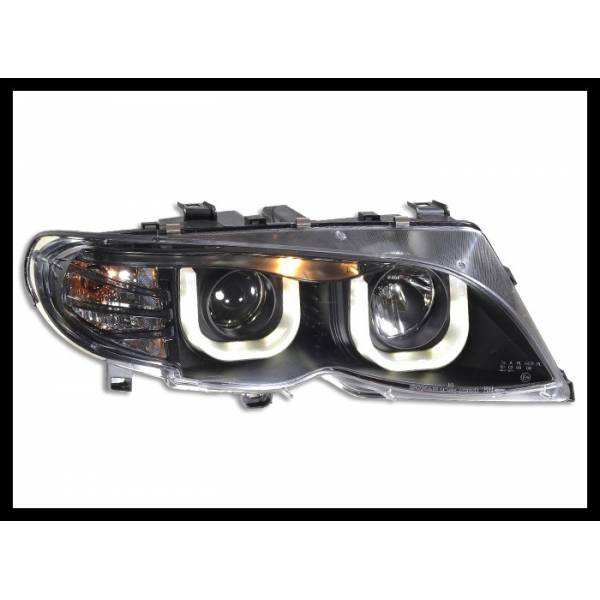 DAYLIGHT HEADLIGHTS BMW E46 4P 2001-2004 BLACK