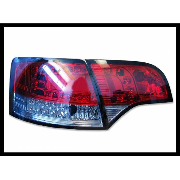 PILOTOS TRASEROS AUDI A4 2005-2008 SW RED SMOKED INTERMITENTE LED