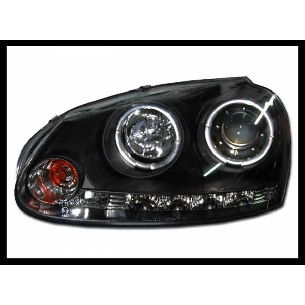 DAYLIGHT HEADLIGHTS VOLKSWAGEN GOLF 5 BLACK ELECT.