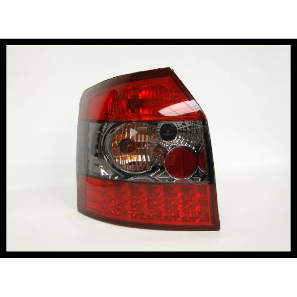 REARLIGHTS '01 AUDI A4 SW, RED SMOKED, LED