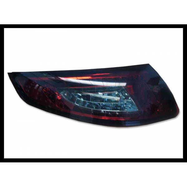 REARLIGHTS PORSCHE 997 '05'09, LED RED SMOKED
