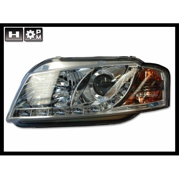 HEADLIGHTS AUDI A3 '03 -'08 MODEL 2 DAYLIGHT