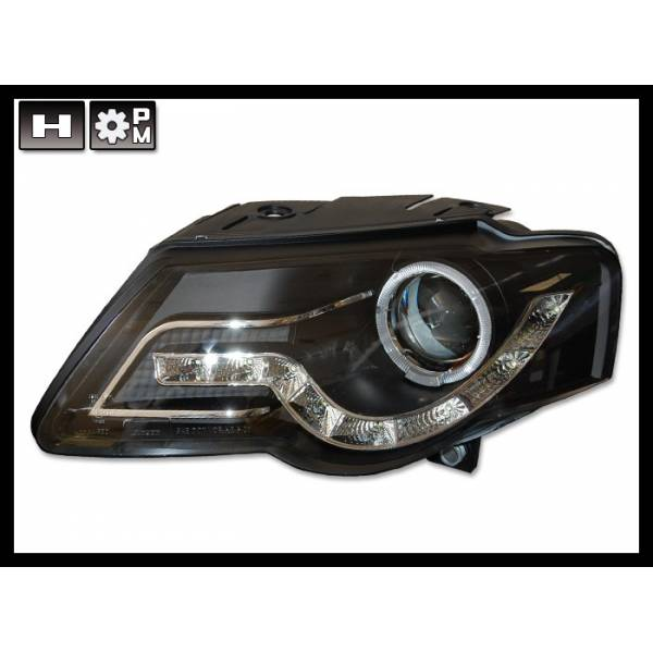 DAYLIGHT HEADLIGHTS VOLKSWAGEN PASSAT '05 BLACK