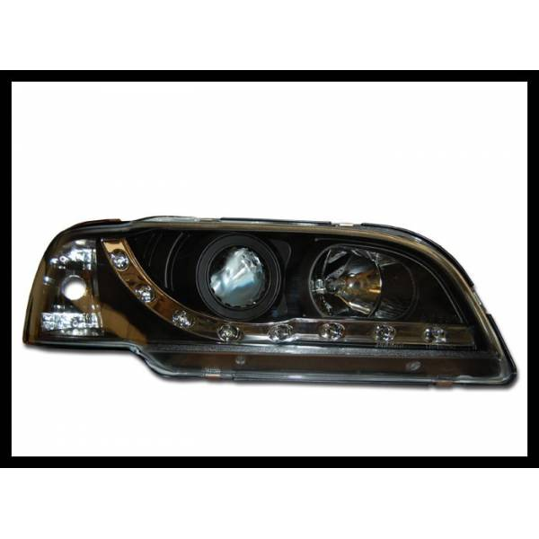 DAYLIGHT HEADLIGHTS FOR VOLVO S-40 95-98 BLACK