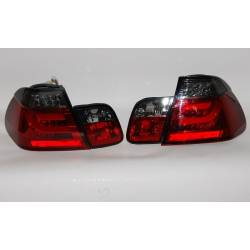PILOTOS TRASEROS CARDNA BMW E46 02-05 4P LIGHTBAR RED/SMOKED