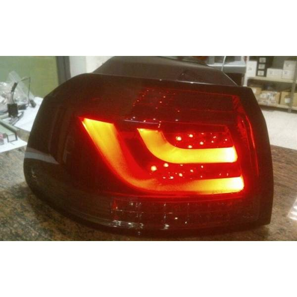REARLIGHTS VOLKSWAGEN GOLF 6 LED LTI RED / SMOKED