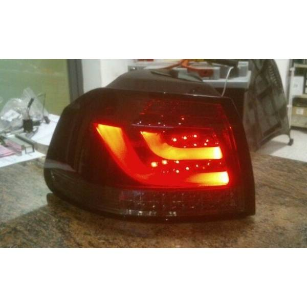 FAROLINS VOLKSWAGEN GOLF 6 LED RED LTI / SMOKED
