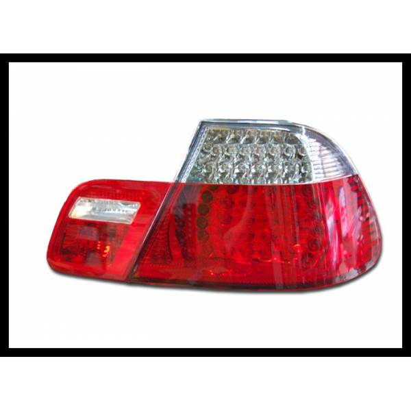 REARLIGHTS BMW E46 RED 2P '99 -02