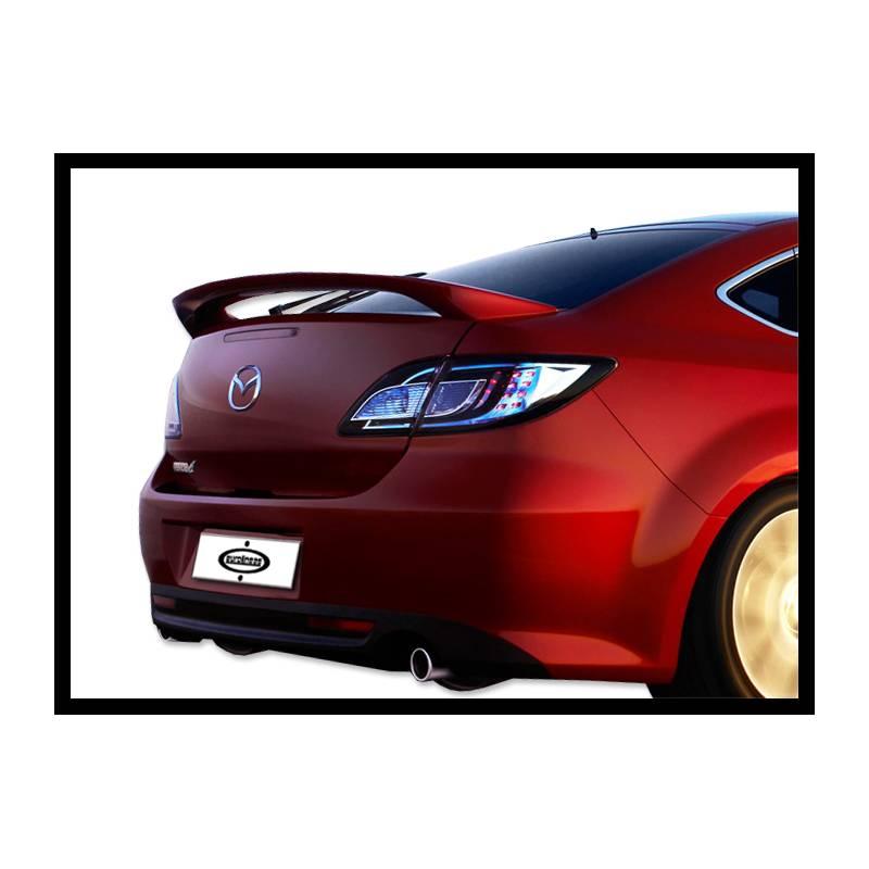 Mazda 6 08-12 Saloon Rear Spoiler - PUR
