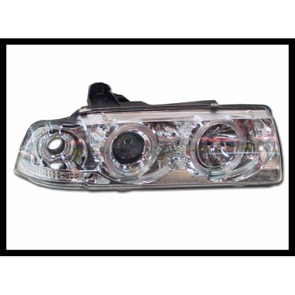 HEADLIGHTS ANGEL EYES BMW E36 COUPE '92