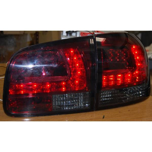 REARLIGHTS VOLKSWAGEN TOUAREG 03 LED RED SMOKED