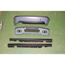 KIT DE CARROCERIA BMW E46 4P 02-05 look M ABS