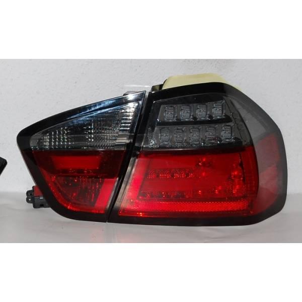 REARLIGHTS CARDNA LIGHTBAR BMW E90 05 LED RED / SMOKED