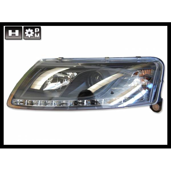 HEADLIGHTS DAY LIGHT AUDI A6 04-07 REAL
