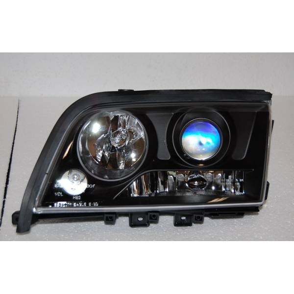 HEADLIGHTS MERCEDES W202 BLACK