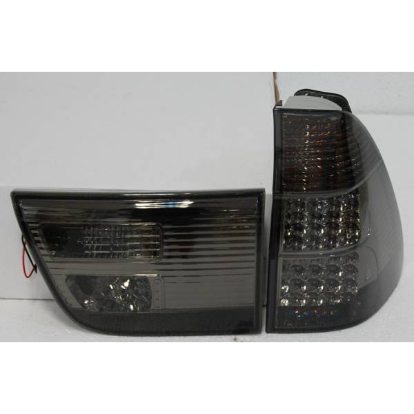 REARLIGHTS '02 -05 BMW X5 LED BLACK