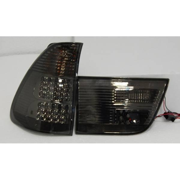 REARLIGHTS '02 -05 BMW X5 LED BLACK