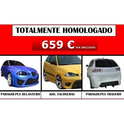 KIT DE CARROCERIA SEAT IBIZA 02 COMBAT