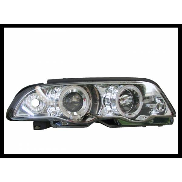 HEADLIGHTS ANGEL EYES BMW E46 4P '98 -01. INTER.