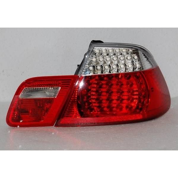 REAR LIGHTS BMW E46 '98 -'05 DC, LED, RED, CHROMED