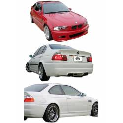 KIT DE CARROCERIA BMW E46 98-02 4P LOOK M3
