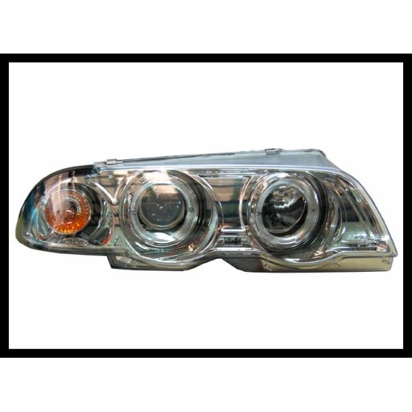 SCHEINWERFER ANGEL EYES BMW E46 4P '98 -01. ELECT.