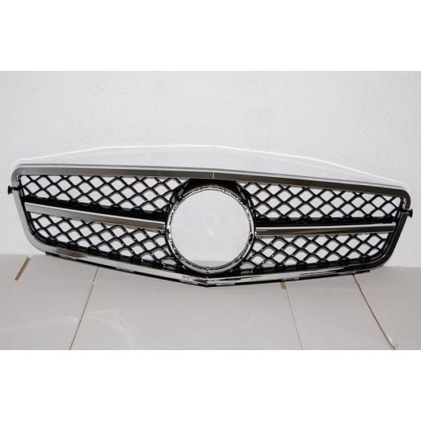 GRILLE MERCEDES W204 2011-2014 AMG LOOK