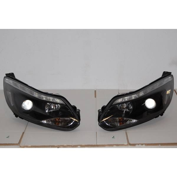HEADLIGHTS FORD FOCUS 2011-2014 DAYLIGHT