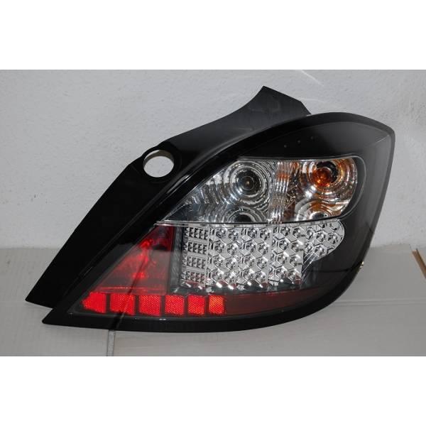 REARLIGHTS OPEL ASTRA H 5P 4/8 LED BLACK