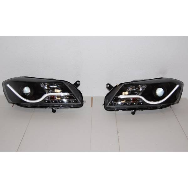 2012 VOLKSWAGEN PASSAT HEADLIGHTS DAY LIGHT LTI BLACK