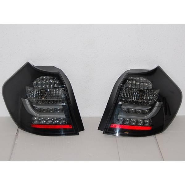 FAROLINS CARDNA BMW E87 / E81 07-11 BLACK / LIGHTBAR SMOKED