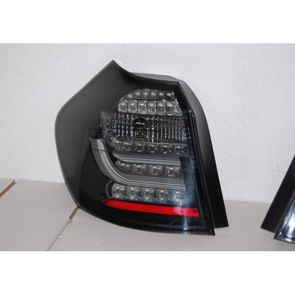 REARLIGHTS CARDNA BMW E87 / E81 07-11 BLACK / SMOKED LIGHTBAR