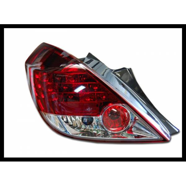 REARLIGHTS OPEL CORSA D RED 3P