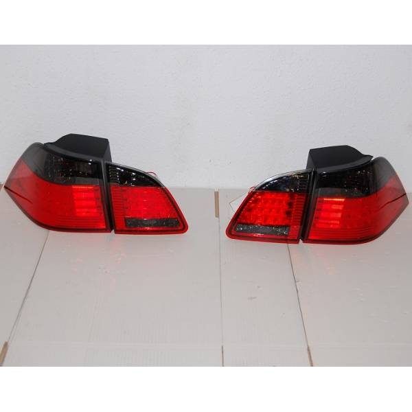 BMW E61 REARLIGHTS LED, RED / BLACK