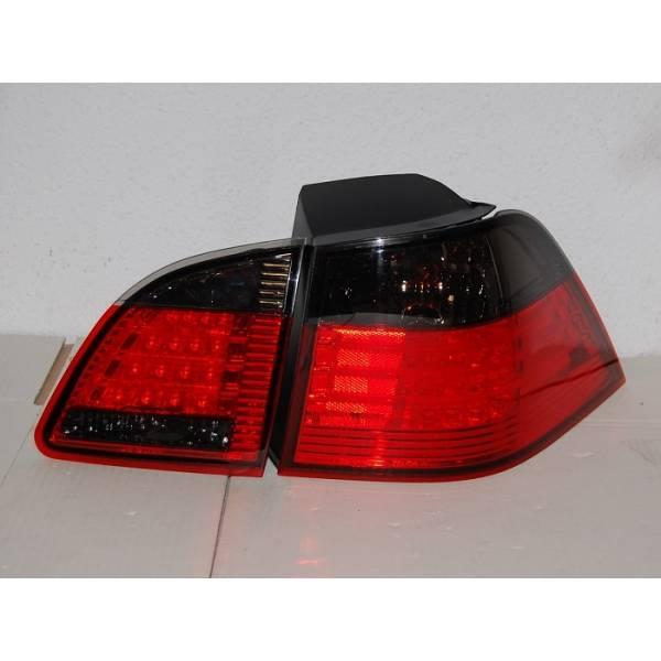 BMW E61 FAROLINS LED, VERMELHO / PRETO