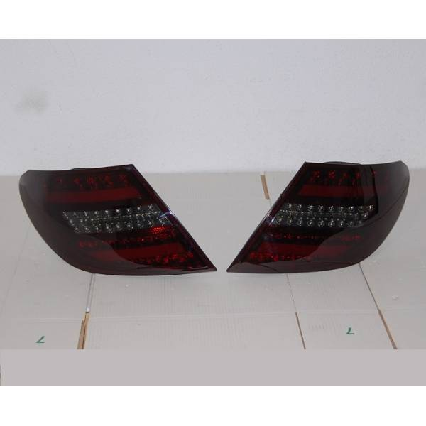 FANALI POSTERIORI CARDNA MERCEDES W204 07-10 SMOKED LIGHTBAR INT. LED