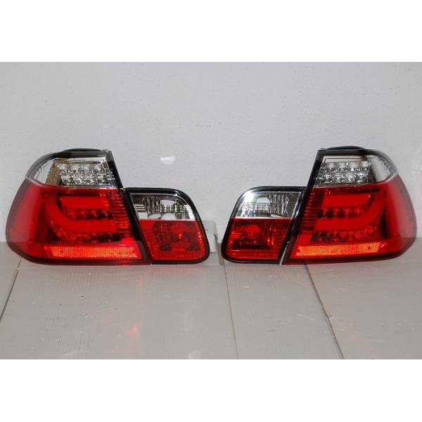 REARLIGHTS CARDNA BMW E46 4 DOORS RED 2002-2005 LIGHTBAR